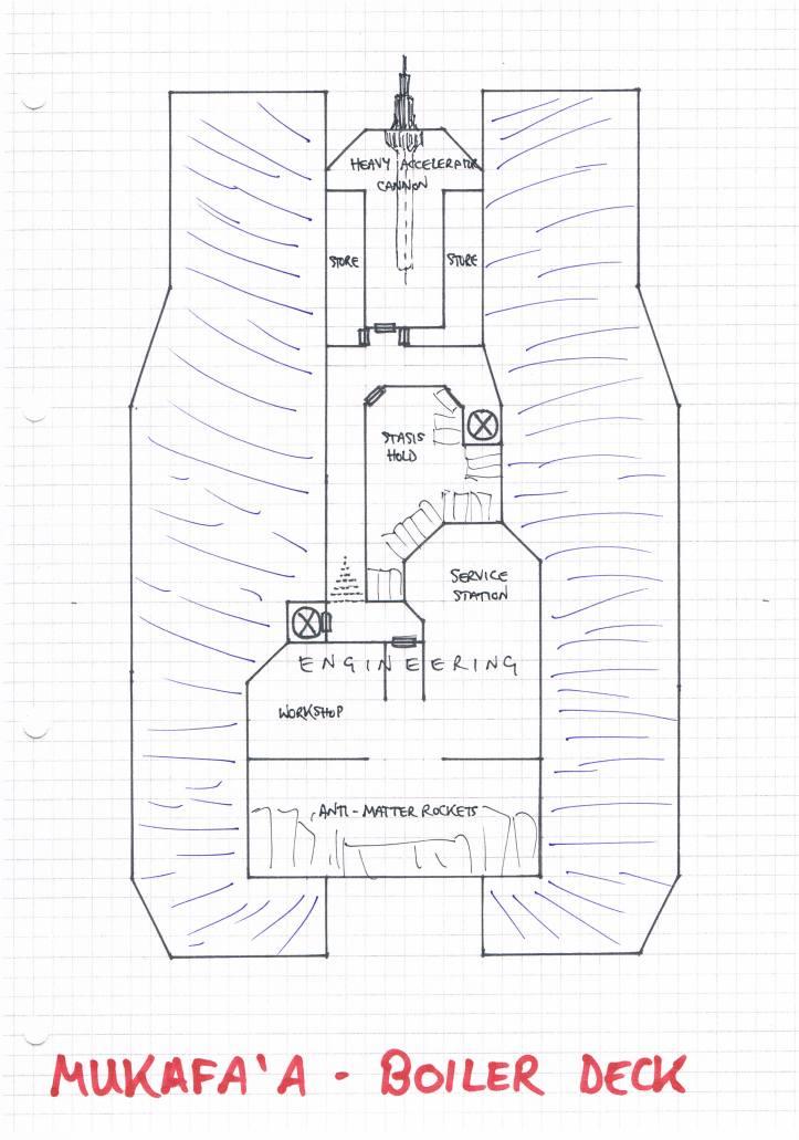 Mukafa'a Boiler Deck