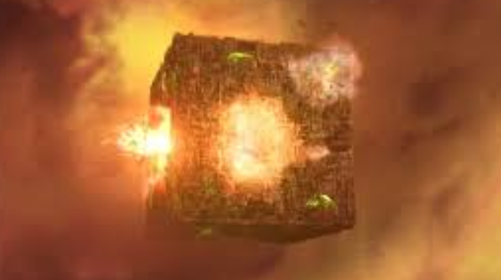 cube explode#1